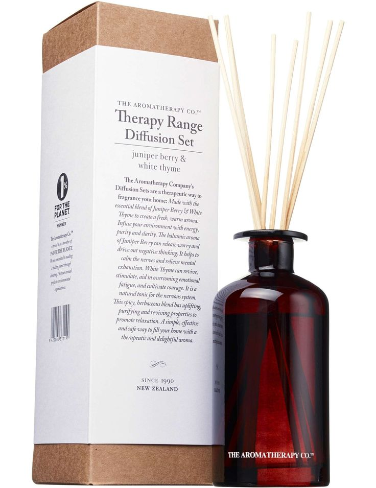 The Aromatherapy Co. Aroma Co Jun Bry & Thyme Diffuser 250ml - David Jones