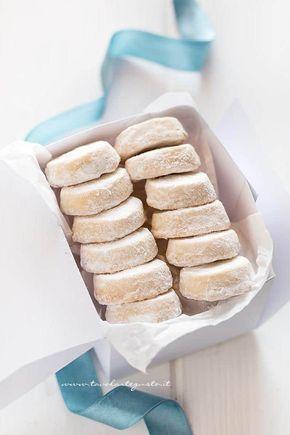 Biscotti all'arancia confezionati nella scatola - Ricetta Biscotti all'arancia