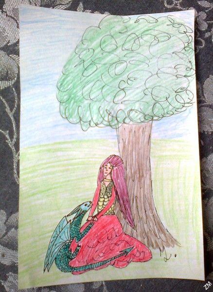Dívka s drakem