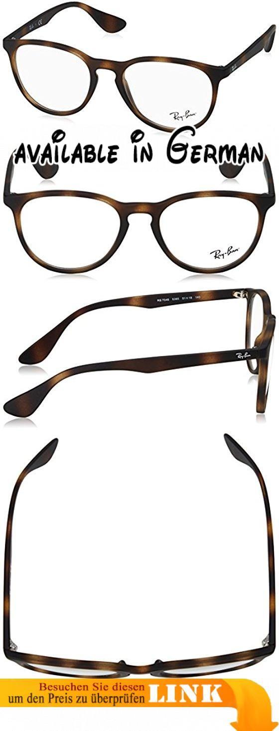Ray-Ban Damen 7046 Brillengestelle, Schwarz (Negro), 51. Browngradientpolar lens. Protective case included #Apparel #EYEWEAR