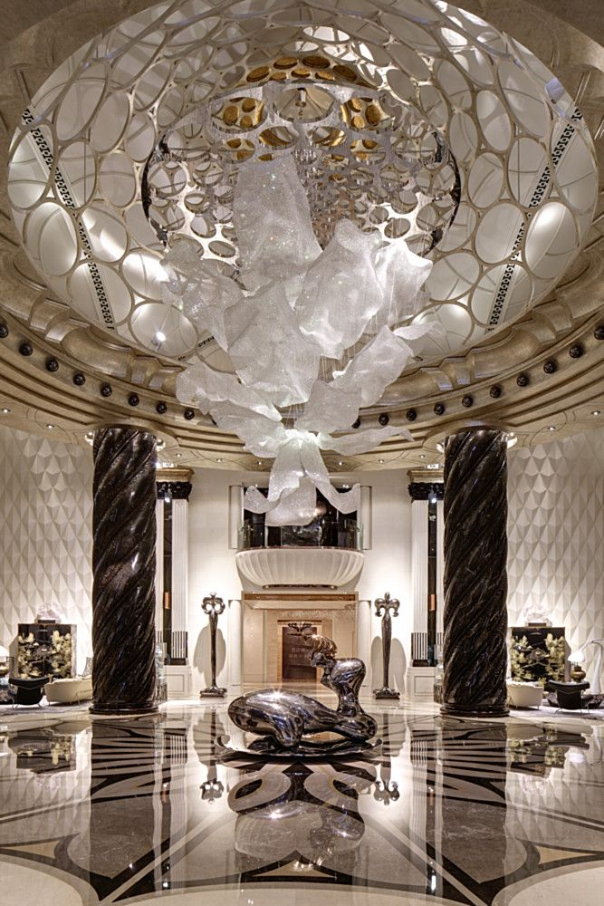 Chateau Star River - Lasvit   Hotel Interiors Inspirations #hotelinteriors…
