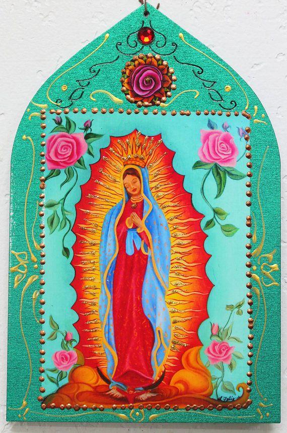 Notre Dame de Guadalupe art mexicain Guadalupe mère Marie