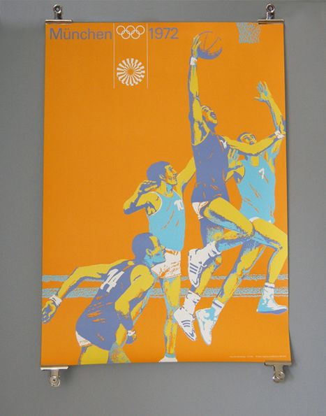 Olympic poster from 1972