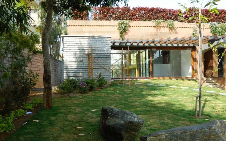 Totalenvironment residential project, Windmills of Your Mind(WOYM) - View of villa entrance