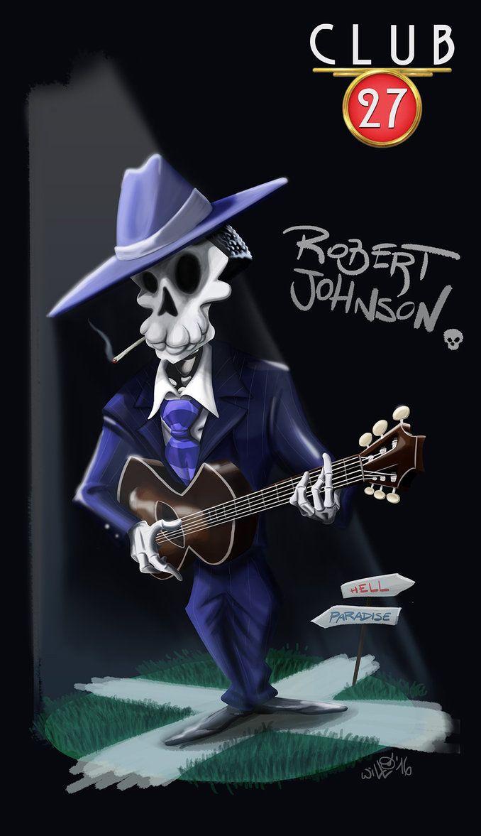 Club 27 Robert Jhonson, digital paint