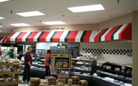 bright color business Awnings | 2110 South Ave ...