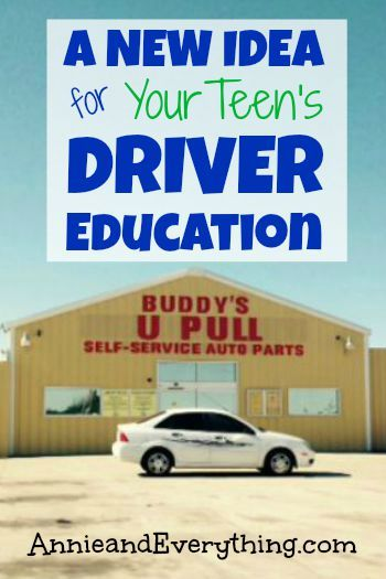 Got a teen driver? Here's a driver education activity to do together that will bring home the benefits of careful driving.