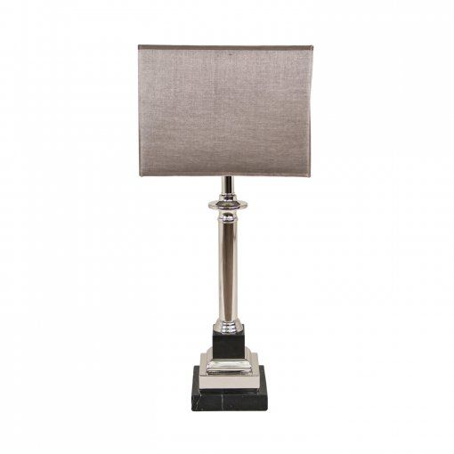 Rv astley krista marble effect nickel table lamp rv astley from house of isabella uk