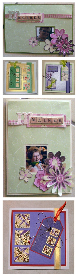 Mothers Day cards.. I love my Mum :)