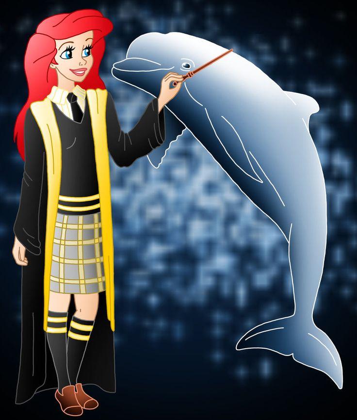 Disney Hogwarts students: Ariel by ~Willemijn1991 on deviantART