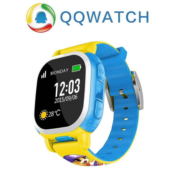 Tencent Qq Watchgps Tracker Watch For Kids Sos Emergency Anti Lost Smart Mobile Phone App Bracelet Wristband For Android Ios. SMART WATCH.