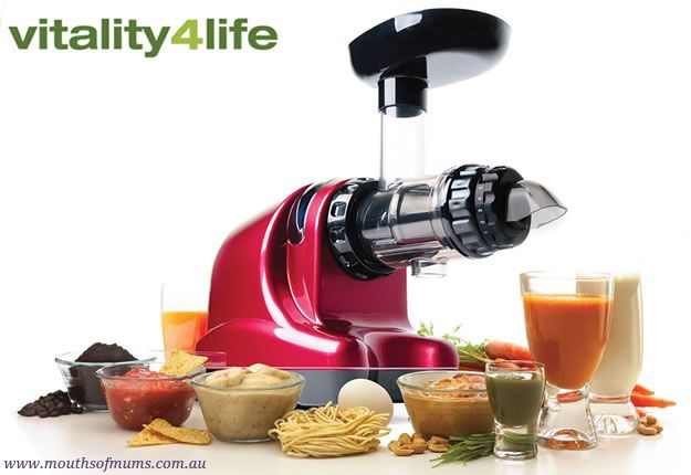 Just in time for summer Mouths of Mum's are delighted to be offering you the chance to win an Oscar Neo Cold Press Juicer!