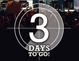 Paranormal Piffle and Bosh: OMG! 3 DAYS TO GO!