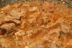 Carne con Chile - Authentic Mexican Chile con Carne. (Authentic Mexican Chicken)