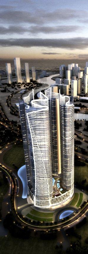 DAMAC Paramount Hotel & Residences, Dubai, UAE :: 64 floors, height 279m :: under construction