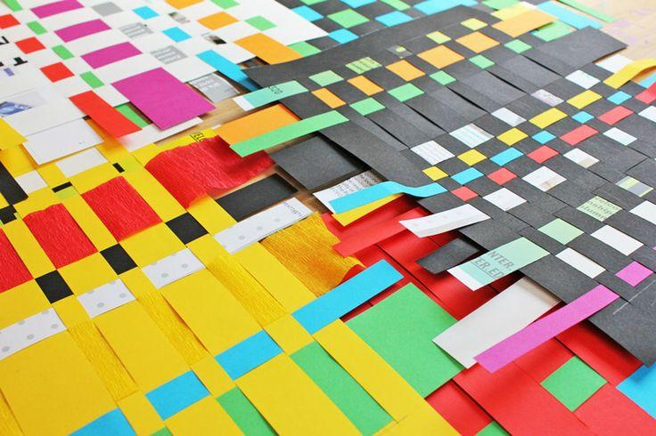 Art For Kids: Paper Weaving | BABBLE DABBLE DO