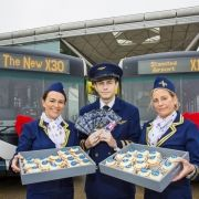 First Essex introduces 12 brand new buses to Stansted Airport