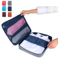 Men Nylon Home Clothes Storage Bag Travel Storage Bag
