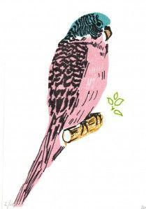Bird Gocco Print