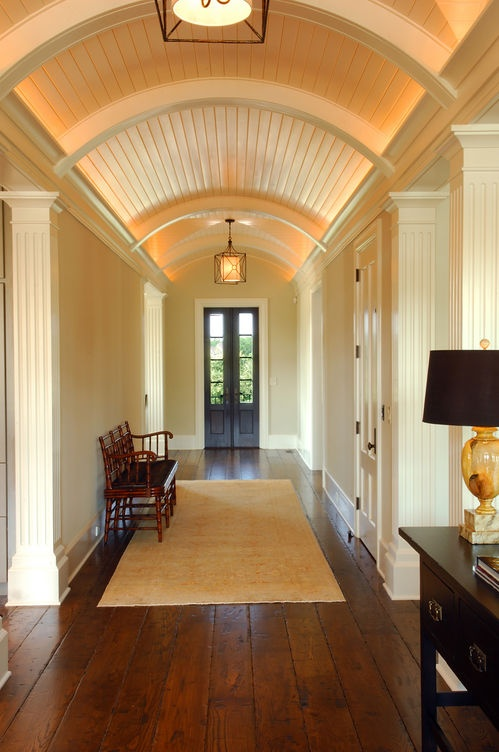Beautiful foyer facing rear