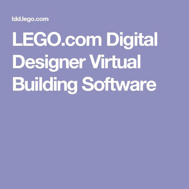LEGO.com Digital Designer Virtual Building Software