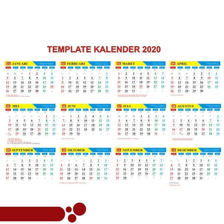 Kalender 2020 Stile Bild in 2020 Templates
