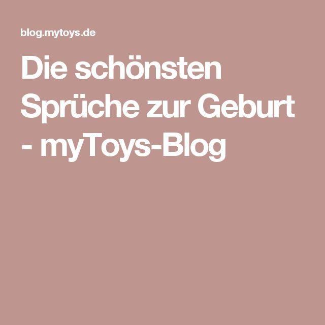 Die schönsten Sprüche zur Geburt - myToys-Blog