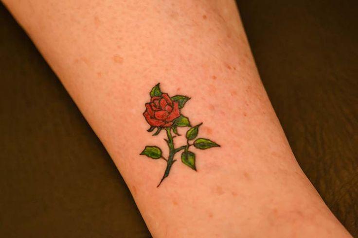 Small rose tattoo illustrator tattoo tattoos for Small flower designs