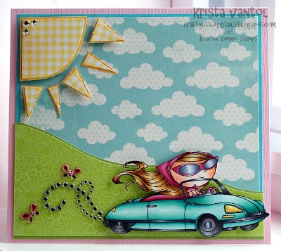 Brand new Moonlight Whispers release at Kraftin' Kimmie Stamps, 'GOING PLACES'...I love this convertible stamp!