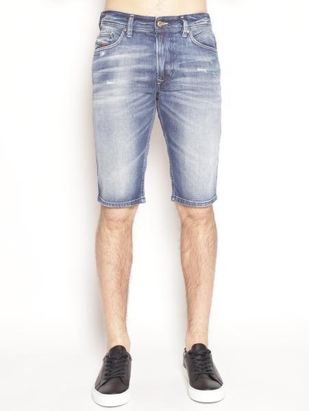 DIESEL U. THASHORT - Shorts denim scuro Denim scuro Pantaloni - TRYMEShop
