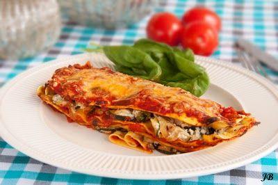 Carolines blog: Romige courgette lasagne