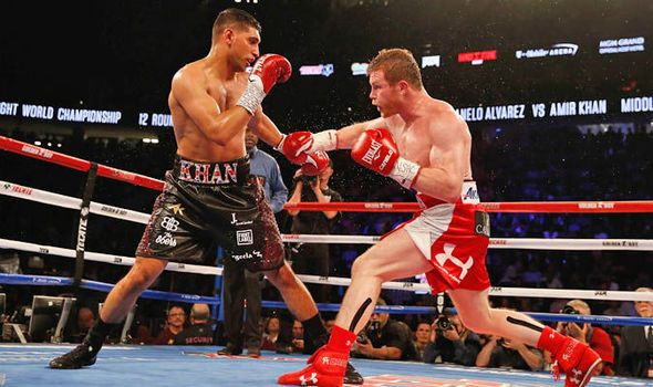 Amir Khan eyes return to ring in wake of brutal Saul Alvarez defeat