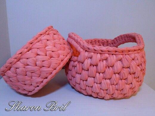 Crochet baskets  https://m.facebook.com/pitaya.sharonbril/