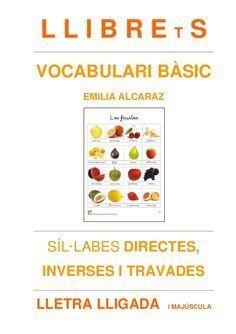 LLIBREtS Vocabulari bàsic - Emilia Alcaraz