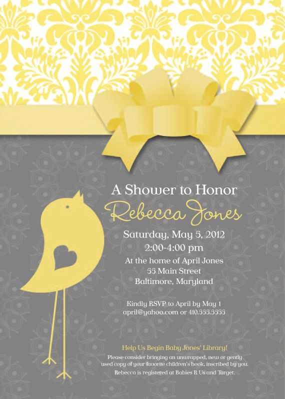 best baby shower invites images on   shower ideas, Baby shower invitation