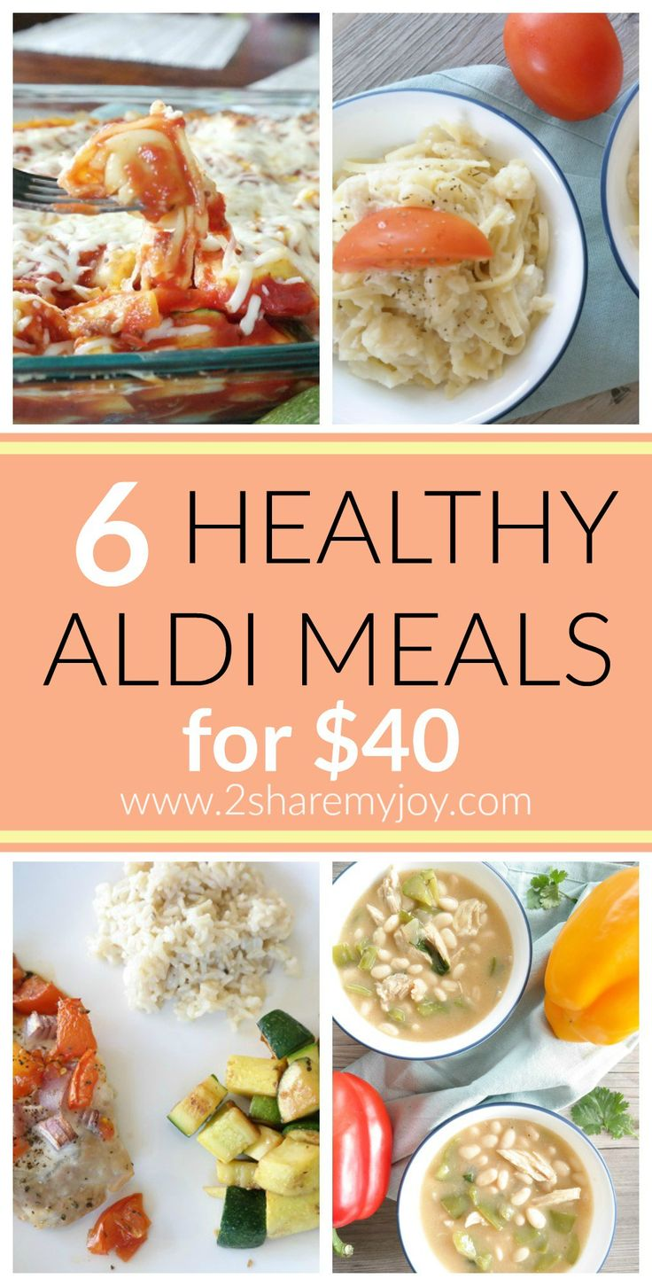 Do you still think eating healthy is expensive? Try these healthy Aldi diner recipes for only $40 and under 500 calories per serving. This will help you lose weight on a budget. These healthy recipes are family friendly and easy.