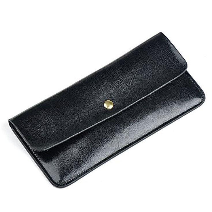 BEMAGSA Women's Leather Wristlet Wallet(PL-163)