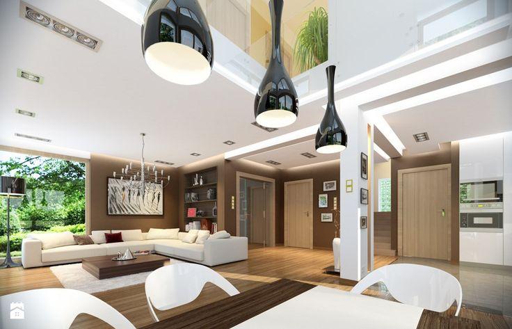 Projekt domu Riwiera 2 - zdjęcie od MG Projekt Pracownia Architektoniczna - Jadalnia - Styl Nowoczesny - MG Projekt Pracownia Architektoniczna