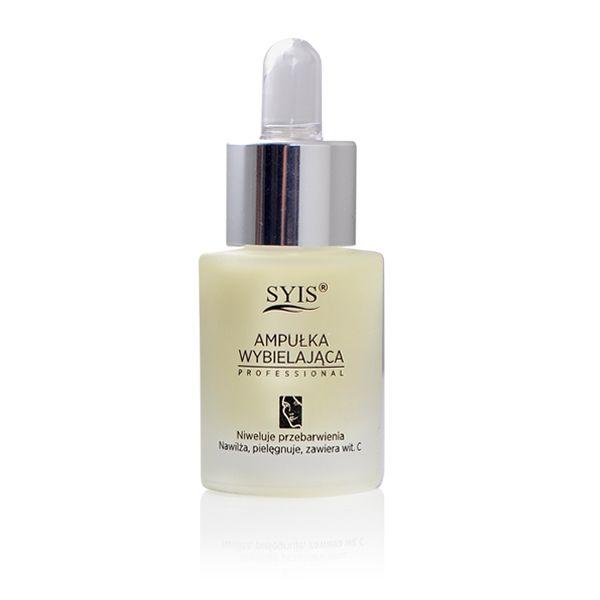 SYIS AMPULLE WHITENING SERUM, M C VITAMIN, MOT HYPERPIGMENTERING, FOR LYSERE HUD, 15ml-AC104807