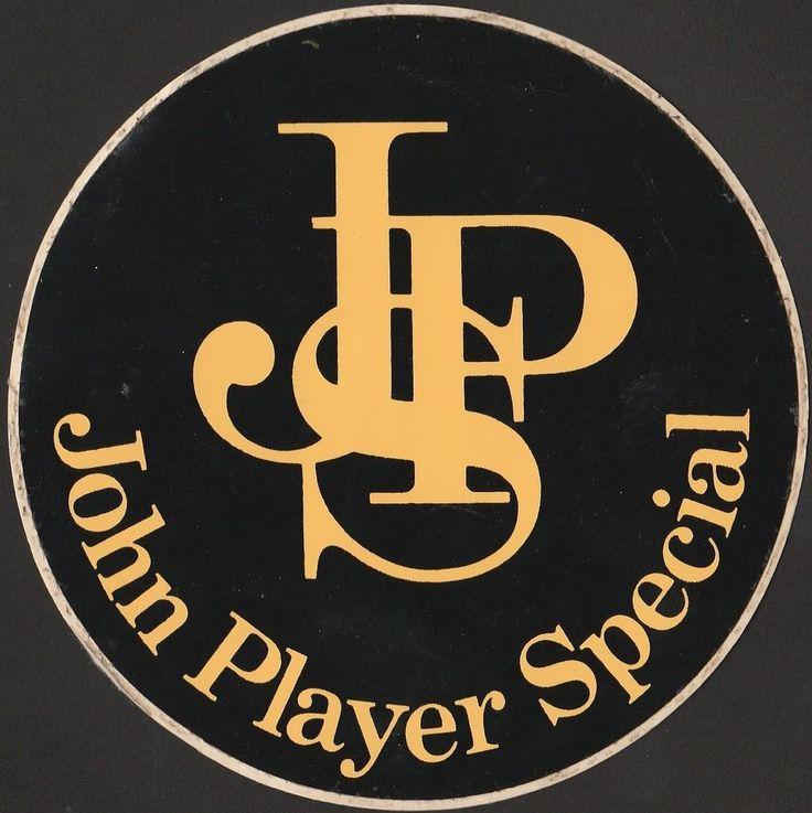 JOHN PLAYER SPECIAL JPS F1 GP LOTUS ORIGINAL PERIOD