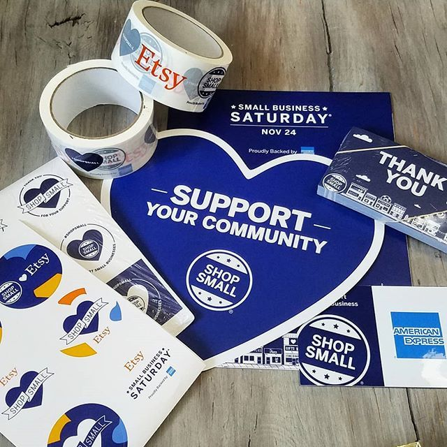2df3bfb0eb75c We just recieved this awesome Small Business Saturday kit from @etsy ...