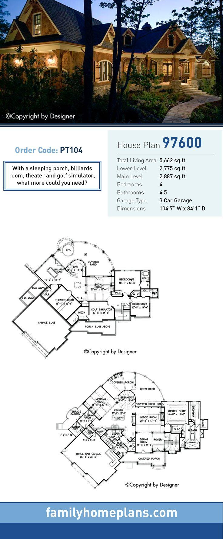 25 best ideas about Craftsman house plans