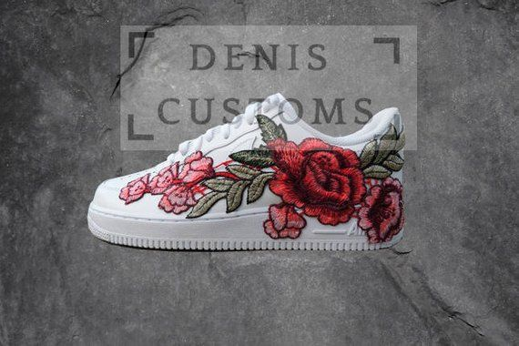 Nike Air Force 1 Low with Rose Floral