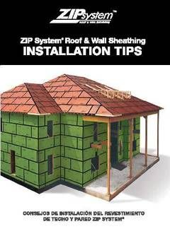 View ZIP System Sheathing and Tape Installation Tips PDF