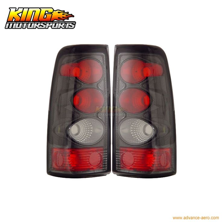 (94.00$)  Watch here - http://aiz25.worlditems.win/all/product.php?id=32765706297 - For 2003-2006 Chevy Silverado Tail Lights Carbon Lamps 04 05 USA Domestic Free Shipping