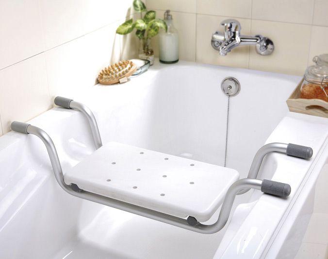 Las sillas para bañera te permiten acceder cómodamente, de forma segura y sin esfuerzo a la bañera. Fabricado en aluminio con fundas que se apoyan en losbordes laterales de la bañerapara...