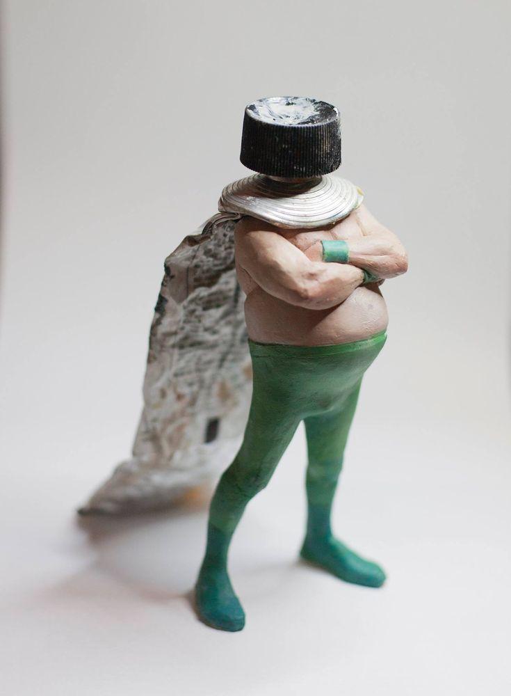 Carlos Tardez | Sculptures, Upcycled art, Surrealism
