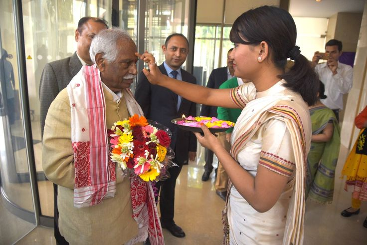 People of Assam welcomed Shri Bandaru Dattatreya ji, Minister of State (Independent Charge) for Ministry of Labour and Employment, Govt. of India, in Guwahati.