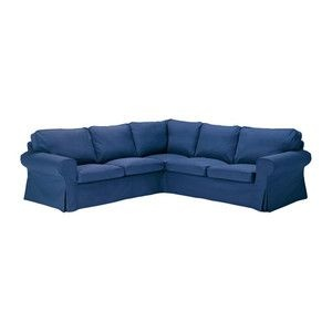 Blue Sectional Ikea Ektorp I Wonder If They Still Have It In The Denim This Is The Best