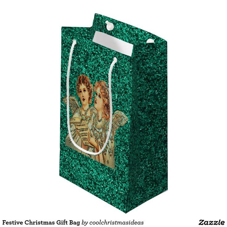 Festive Christmas Gift Bag